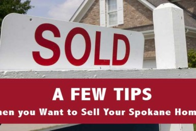 Sell Your Spokane Home
